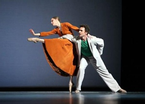 Manuel Legris & Laetitia Pujol, Paris Opera Ballet Photo performing at The Dance Salad by: Ursula Kaufmann