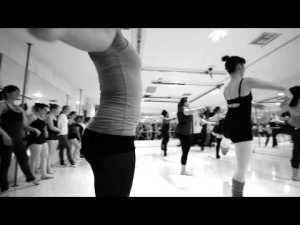 My ballet class at Align Ballet Method in West Hollywood, CA. Photo property of Align Ballet Method.