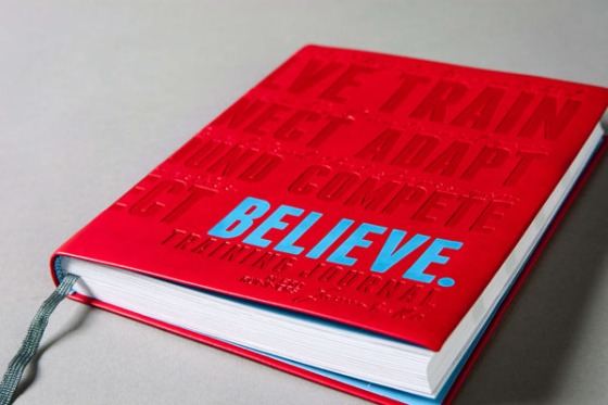Believe Training Journal by Lauren Fleshman and Roisin McGettigan-Dumas